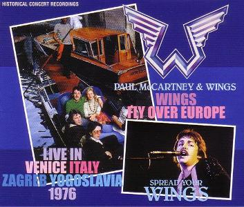 Paul McCartney/Wings – Wings Fly Over Europe / Spread Your