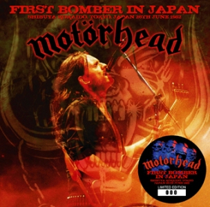 Motörhead – First Bomber In Japan (Calm & Storm 033