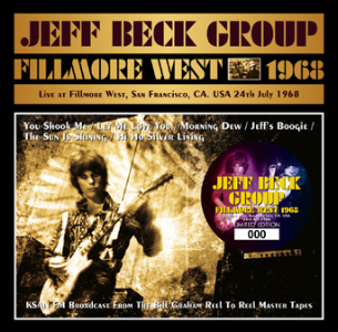 Jeff Beck Group - Fillmore West 1968