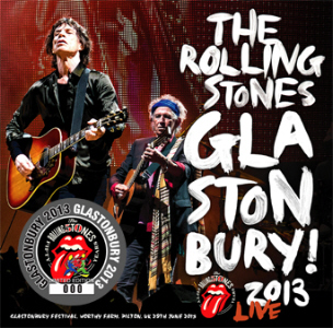 Rolling Stones - Glastonbury 2013 CD