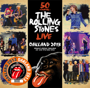 The Rolling Stones- Oakland 2013- (No Label) – Collectors