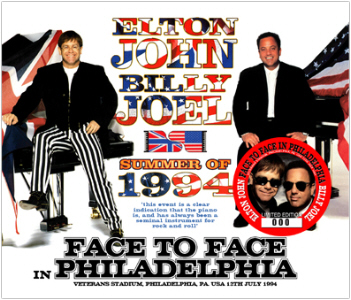 Elton John & Billy Joel - Face To Face In Philly