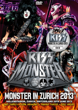 Kiss - Monster in Zurich 2013 DVD