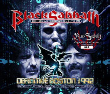 Black Sabbath - Definitive Boston 1992