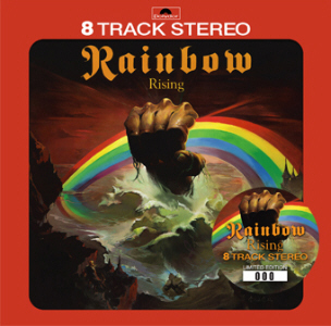 Blackmore's Rainbow – Rising US 8 Track Tape