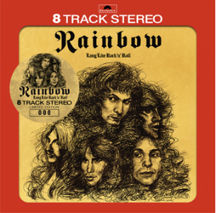 Rainbow – Long Live Rock 'n' Roll US 8 Track Tape