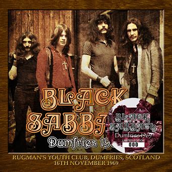 Black Sabbath – Dumfries 1969