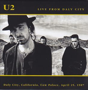 U2 – Live From Daly City (Eat A Peach EAT 167/68