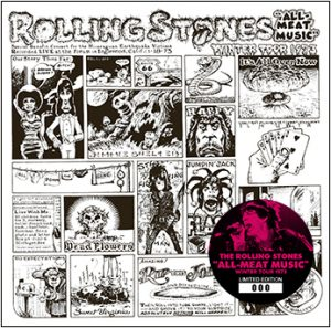 The Rolling Stones All Meat Music Winter Tour 1973 No